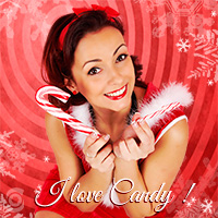 Pin-Up-Special X-Mas